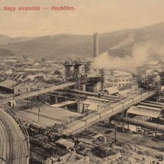 RESITA EDITURA FURNALUL DE PURJARE L. BRAUMULLER RESITA - Carte Postala Banat dupa 1918, Necirculata, Printata