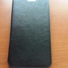 Husa piele Asus zenfone 6 + folie sticla, Universala, Negru
