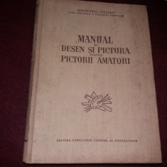 MANUAL DE DESEN SI PICTURA PENTRU PICTORII AMATORI - Album Pictura