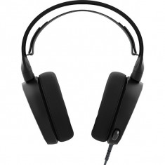 Casti Gaming Steelseries Arctis 3 Black - Casca PC Steelseries, Casti cu microfon