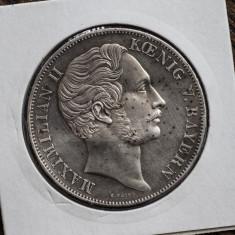 Thaler - Maximilian II -1855, Europa, Argint