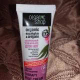 Crema pentru picioare de la Organic Shops