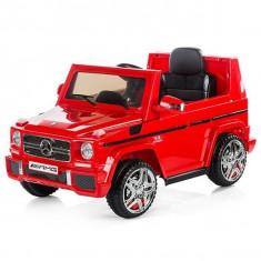 Masinuta electrica Chipolino SUV Mercedes Benz G65 AMG - Rosu - Masinuta electrica copii