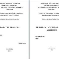 LUCRARE DE LICENTA AMG – INGRIJIREA PACIENTULUI CU BOALA ALZHEIMER (1)