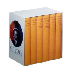 Werke, 6 Bde., Jubilaumsausgabe Gebundene Ausgabe – 1998 velina ed. lux / Goethe - Carte de lux