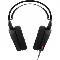 Casti Gaming Steelseries Arctis 5 Black - Casca PC Steelseries, Casti cu microfon