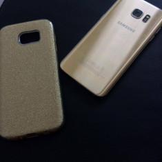 Samsung s7 edge gold, nou-nout, 10/10 - Telefon Samsung, Auriu, 32GB, Neblocat, Single SIM