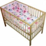 Lenjerie patut copii Hubners Zane 4 piese roz - Lenjerie pat copii