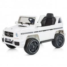 Masinuta electrica Chipolino SUV Mercedes Benz G63 - Alb - Masinuta electrica copii