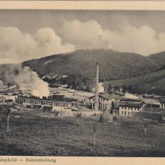 RESITA UZINA HIDRAULICA DISTILERIA DE LEMN EDITURA WEISS ADOLF RESITA - Carte Postala Banat dupa 1918, Necirculata, Printata
