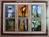 GUINE-BISSAU, PICTURA RENE MAGRITTE, 1 M/SH , NEOBLIT,  2001 - G BIS 27, Arta