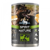 Spirit of nature - Dog - conserva cu miel si iepure - 800 gr - Carte in engleza