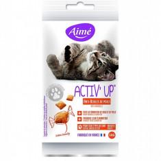 Pernite Activ'up pentru pisici - anti ghemotoace - 50 g - 863487