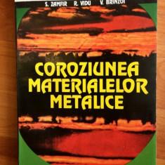 COROZIUNEA MATERIALELOR METALICE - S.ZAMFIR, R. VIDU SI V. BRINZOI