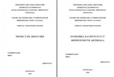 LUCRARE DE LICENTA AMG – INGRIJIREA PACIENTULUI CU HIPERTENSIUNE ARTERIALA (1) foto
