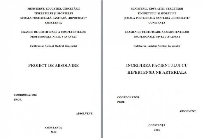 LUCRARE DE LICENTA AMG – INGRIJIREA PACIENTULUI CU HIPERTENSIUNE ARTERIALA (1)