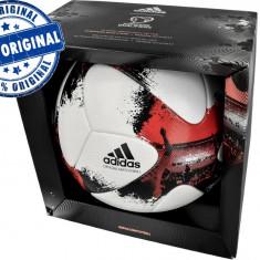 Minge fotbal Adidas European Qualifier - oficiala de joc - originala, Marime: 5, Gazon