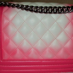 Geanta roz Chanel - Geanta Dama Chanel, Culoare: Rose, Marime: Masura unica