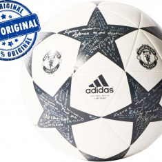 Minge fotbal Adidas Finale Manchester United - minge originala, Champions League, Marime: 5, Teren sintetic