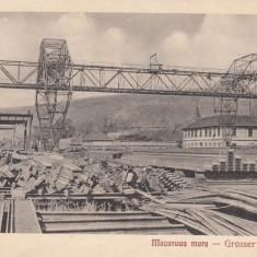 RESITA MACARAUA MARE EDITURA OTTO SCHWARTZ RESITA - Carte Postala Banat dupa 1918, Necirculata, Printata