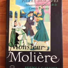 MONSEUR MOLIERE-PIERRE DESCAVES - Carte personalizata