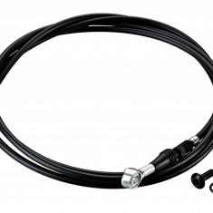 Kit conducta hidraulica si piese SRAM Road pt frane cursiere lungime 2000 neagra pentru frana pe janta PB Cod:SRA-77597 - Piesa bicicleta