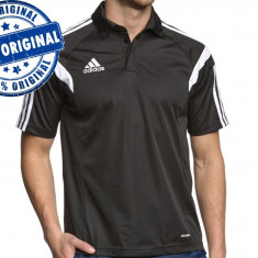 Tricou barbat Adidas Condivo Polo - tricou original - Tricou barbati Adidas, Marime: S, Culoare: Negru, Maneca scurta, Poliester