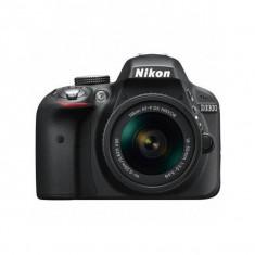 Aparat foto DSLR Nikon D3300 24.7 Mpx Kit AF-P 18-55mm Black