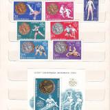 MEDALII OLIMPICE J.O. DE VARA MONTREAL (LP 923) 1976 SI COLITA (LP 924) - Timbre Romania, Nestampilat