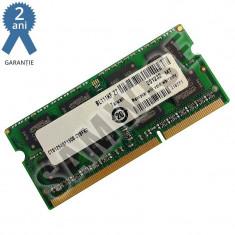 Memorie 2GB MT DDR3 1600MHz SODIMM, pentru laptop, notebook GARANTIE 2 ANI !!