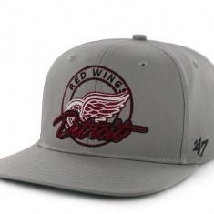 Sapca '47 Detroit Red Wings - originala - flat brim - snapback - oficiala NHL