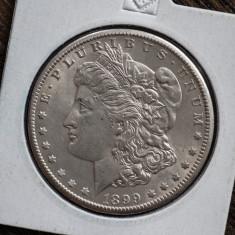 1 dolar 1899 SUA AUNC, America de Nord, Argint