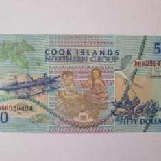 Cook Islands 50 Dollars 1992 UNC