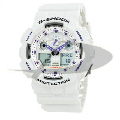 Ceas barbatesc Casio G-SHOCK GA100A-7A, Sport