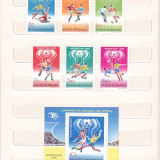 CAMPIONATUL MONDIAL DE FOTBAL ARGENTINA ( LP 954 ) SI COLITA ( LP 955 ) 1978 - Timbre Romania, Nestampilat