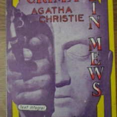Crima Din Mews - Agatha Christie, 399071 - Carte politiste