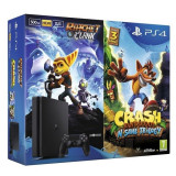 Sony PlayStation 4 Slim 500GB + Crash Bandicoot + Ratchet&Clank - Consola PlayStation