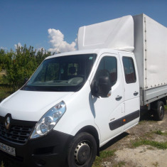 Renault Masetr Dubla cabina 6+1 locuri
