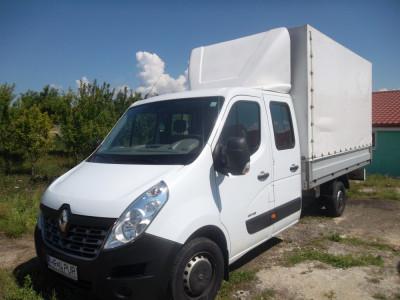 Renault Masetr Dubla cabina 6+1 locuri foto
