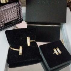 Set bijuterii Michael Kors - Set bijuterii placate cu aur