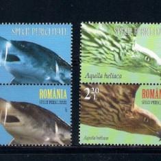 ROMANIA 2017 - SPECII PERICLITATE - VINIETA - LP 2145 - Timbre Romania, Nestampilat