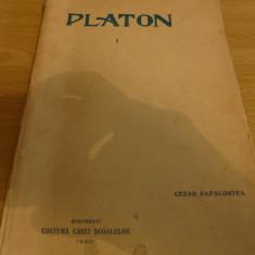 Platon de Cezar Papacostea VOL. I, II, III - Carte veche