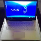 Sony Vaio flip touchscreen, Intel i7-4500U-2, 39Ghz-16GB ram, 500GB SSD, display 2K - Laptop Sony, Intel Core i7, Diagonala ecran: 15, Windows 10