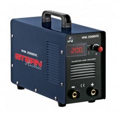Aparat de sudura tip invertor WM-200INVL Stern, 200 A - Invertor sudura