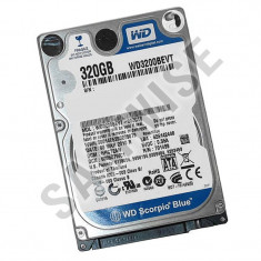 Hard disk laptop notebook Western Digital Blue 320GB SATA2 WD3200BEVT GARANTIE ! - HDD laptop Western Digital, 300-499 GB, Rotatii: 5400, 8 MB