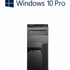 Calculatoare second hand ThinkCentre M83, Intel Core i7-4770, 16Gb, Win 10 Pro