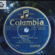 N Leonard disc patefon gramofon v foto! - Muzica Opera, Alte tipuri suport muzica