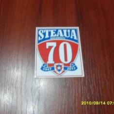 Autocolant Steaua 70 ani