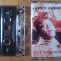 Caseta audio James Brown - Out of Sight - Muzica R&B Altele, Casete audio