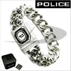 POLICE Bratara Barbati 25486bss01s - Bratara Fashion